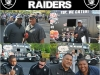 Chillin' with the NFL's Oakland Raiders